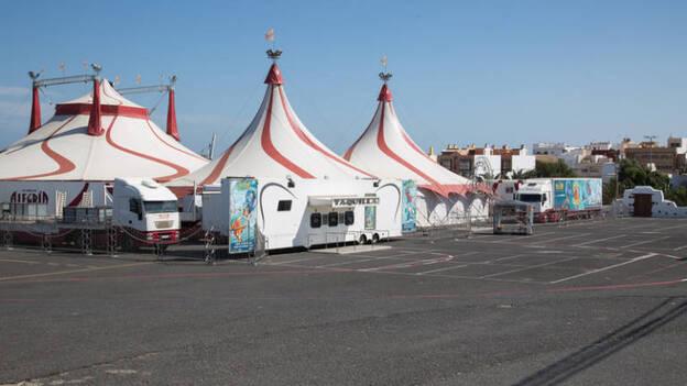 El Circo Alegría llega a la capital con el espectáculo 'Aqua  Circus' | Canarias7