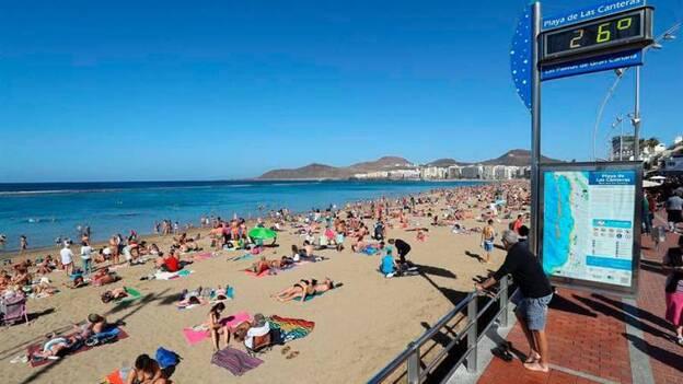 Comienza El Año En Las Canteras Canarias7