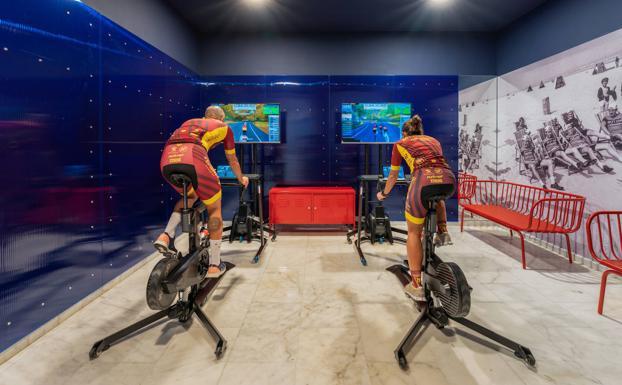Marina Suites crea Virtual Cycling Station, la única sala de ciclismo virtual en España